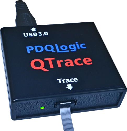 QTrace ETM Trace Probe for ARM Cortex-M3/M4 CPUs